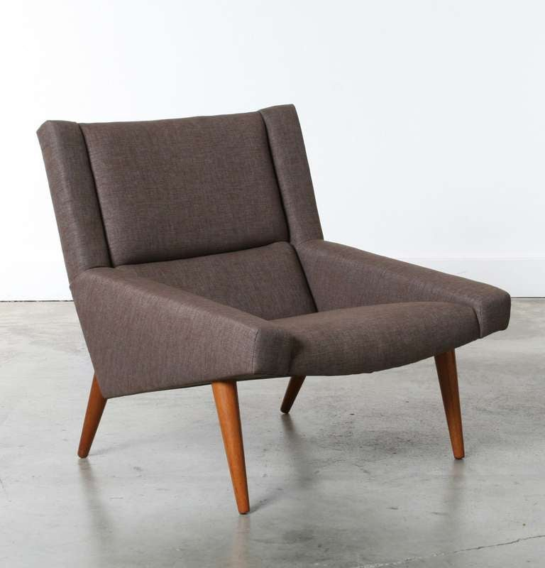Danish Modern Lounge Chair at 1stdibs