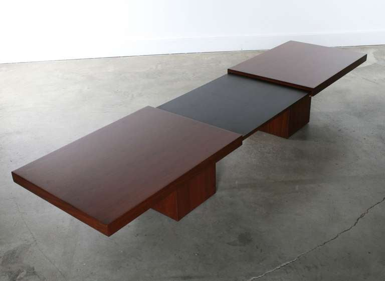 John Keal For Brown Saltman Expandable Coffee Table At 1stdibs