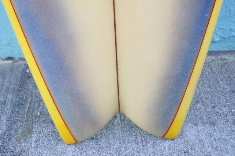 S Hawaii Airbrushed Surfboard At Stdibs