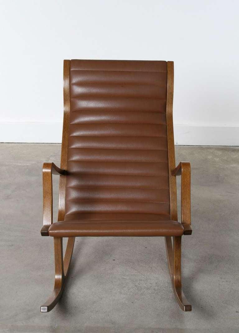 Heron Rocking Chair By Mitsumasa Sugasawa For Tendo Mokko Japan At 1stdibs