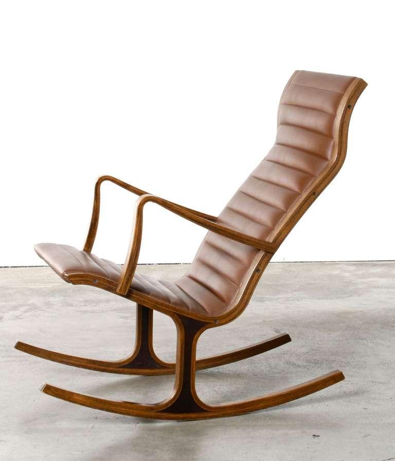 Heron rocking chair by mitsumasa sugasawa for tendo mokko japan at 1stdibs - Rocking chair alinea ...