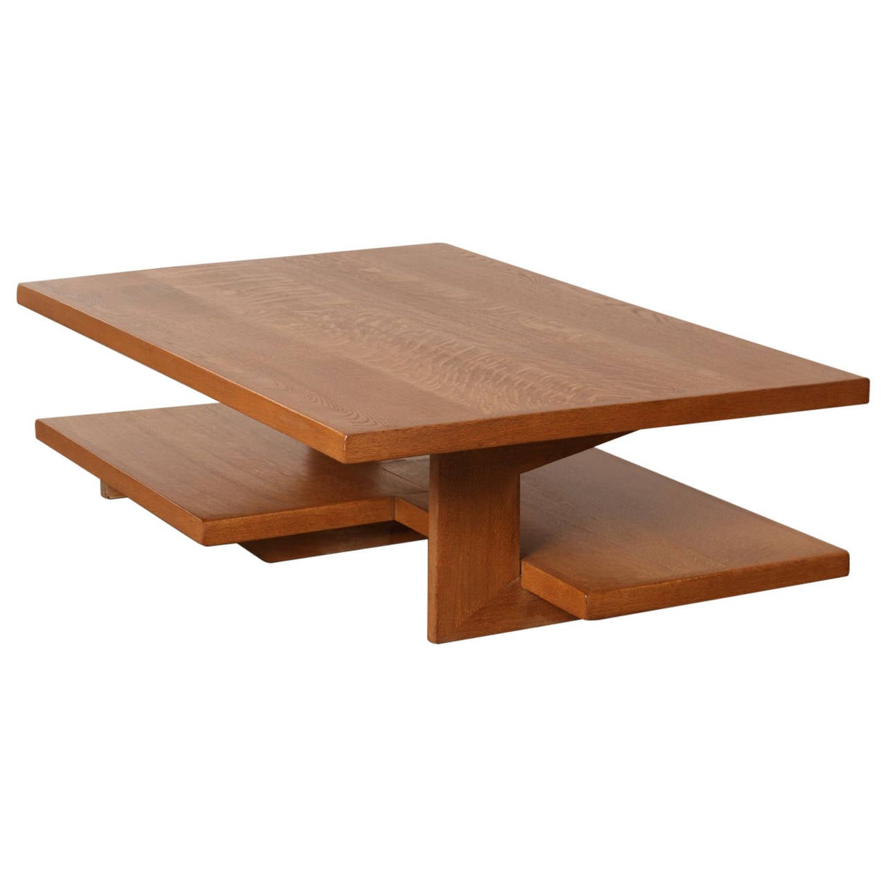 Neutra Frank Lloyd Wright Style Architects Coffee Table At 1stdibs