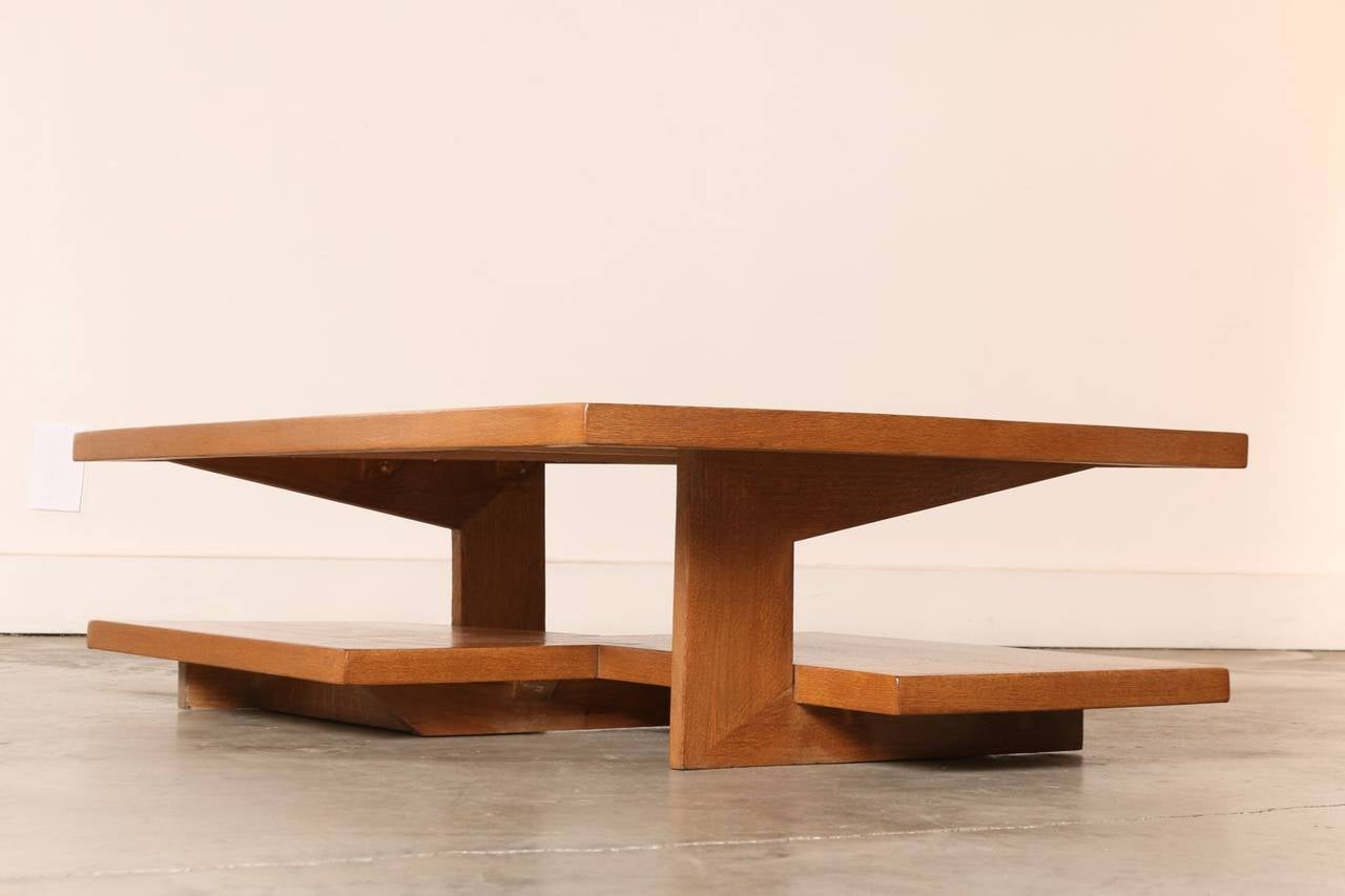 Neutra Frank Lloyd Wright Style Architects Coffee Table Image 2
