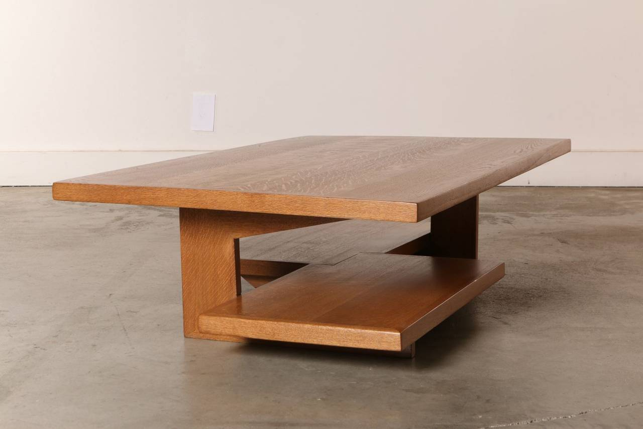 Neutra Frank Lloyd Wright Style Architects Coffee Table Image 4