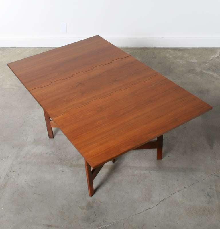 george nelson gate leg dining table for herman miller at 1stdibs. Black Bedroom Furniture Sets. Home Design Ideas