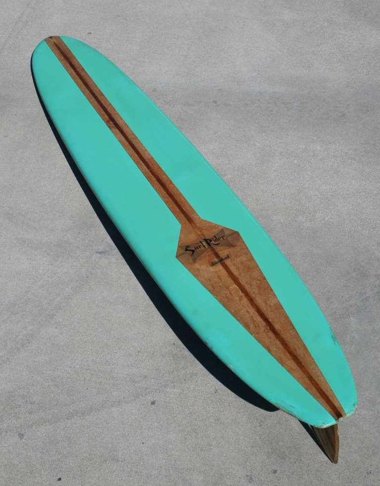 Surf Rider Surfboard, California 1960's 2