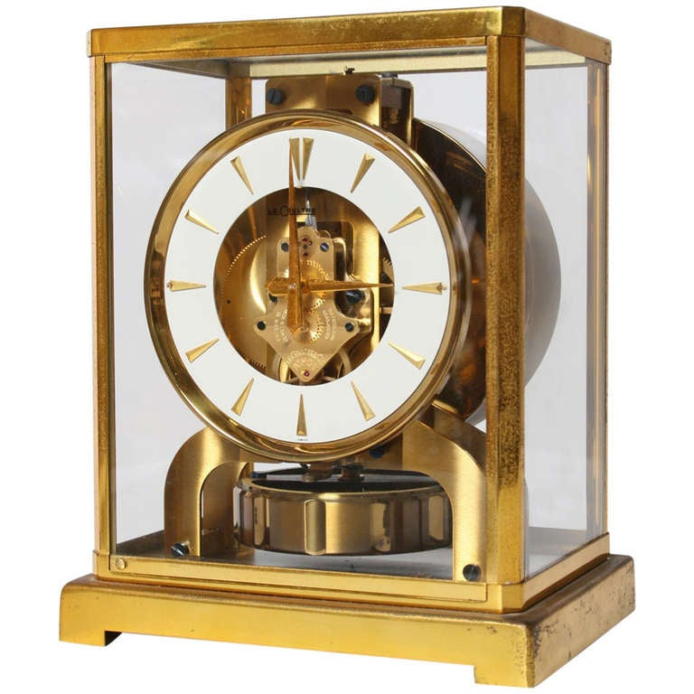 Jaeger Lecoultre Atmos Clock Swiss At 1stdibs