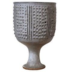Brent Bennett Ceramic Chalice, 1966