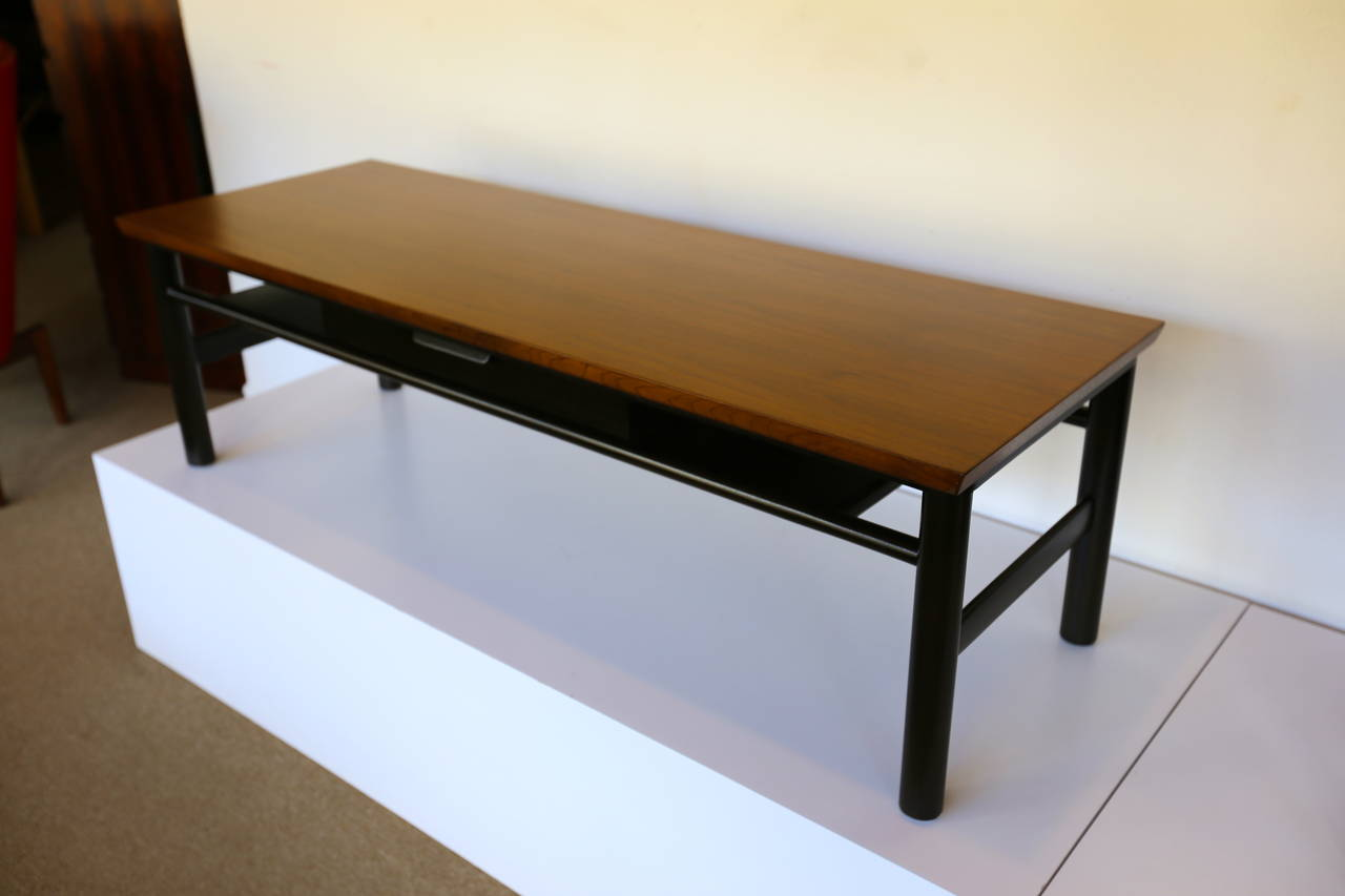 Mahogany Coffee Table by Edward Wormley for Dunbar For Sale