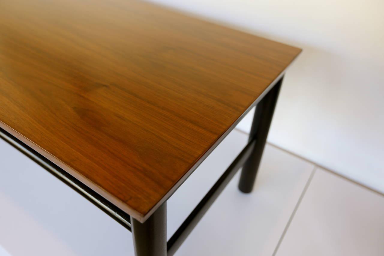 Ebonized Coffee Table by Edward Wormley for Dunbar For Sale