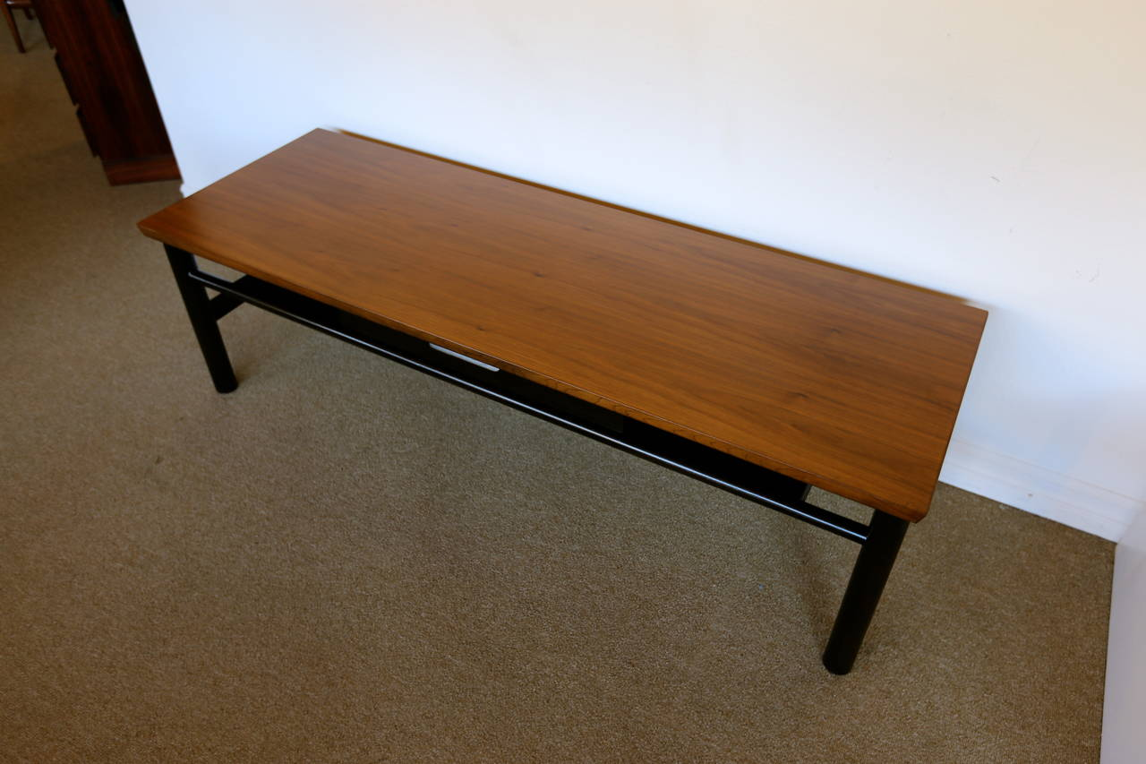 American Coffee Table by Edward Wormley for Dunbar For Sale