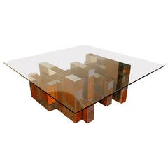 """""""Cityscape"""" Coffee Table by Paul Evans"""
