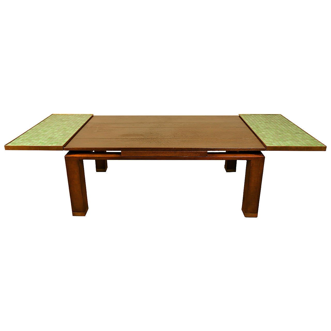 extension coffee table by edward wormley for dunbar at 1stdibs