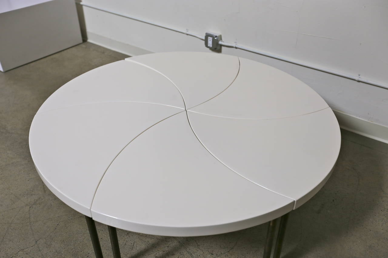 Design Modular Coffee Table modernist modular pinwheel coffee table for sale at 1stdibs 3