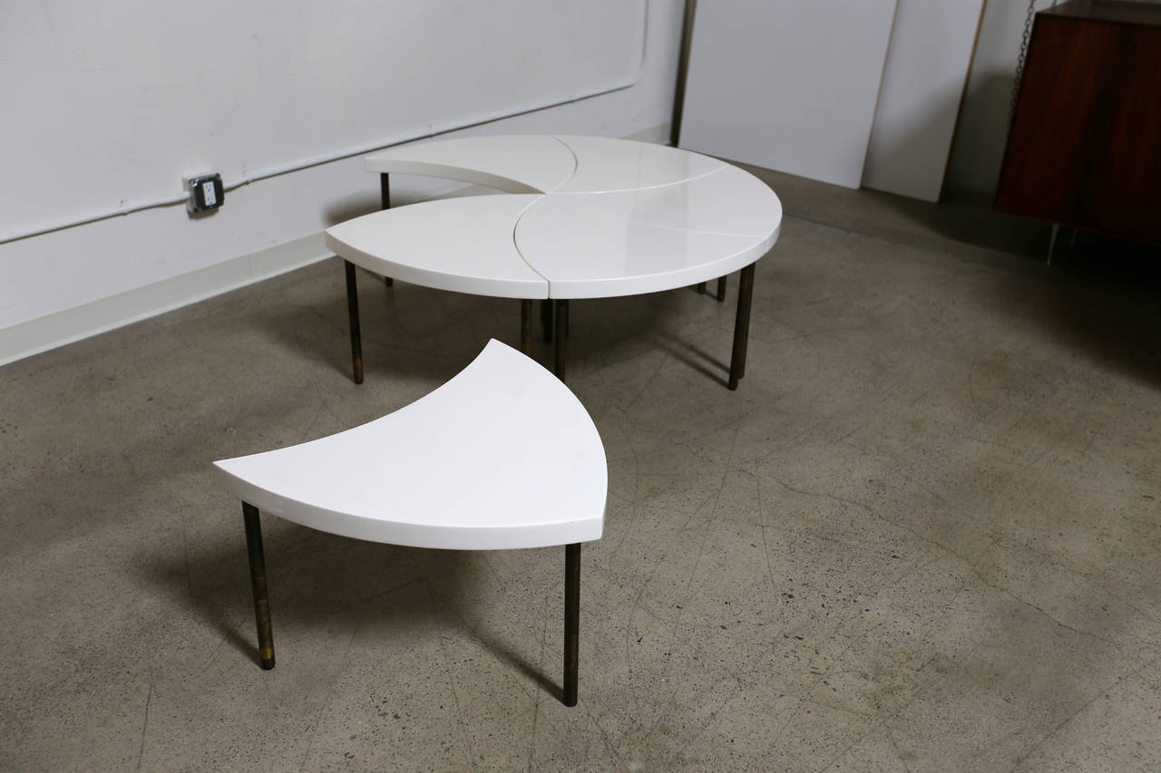 modernist modular quot pinwheel quot coffee table at 1stdibs gallery for gt modular coffee table