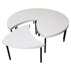 "Modernist Modular ""Pinwheel"" Coffee Table"