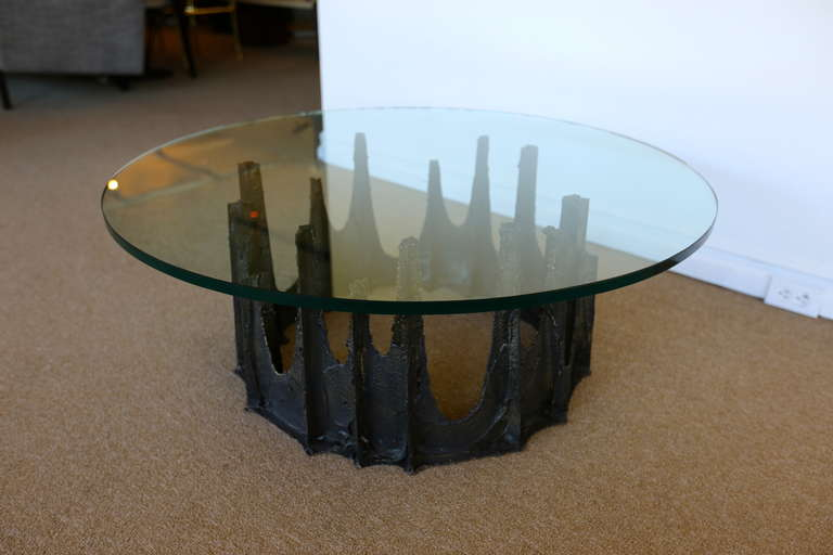 Paul evans stalagmite coffee table signed pe 72 at 1stdibs for Coffee table 72 inch