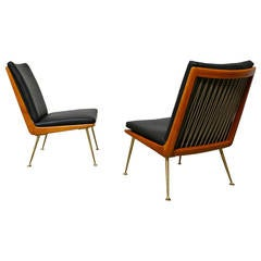 Rare Slipper Chairs by Erno Fabry