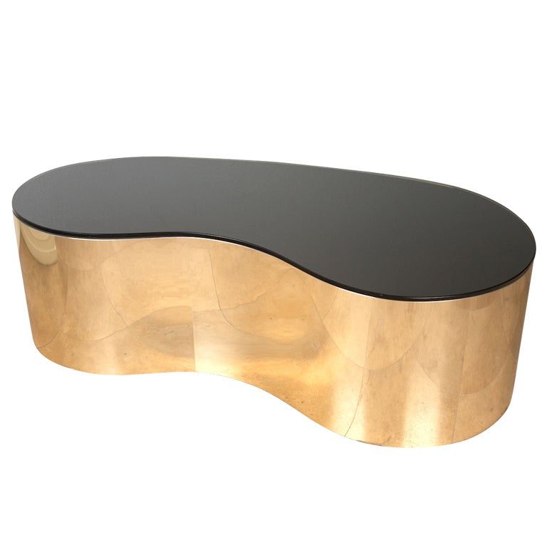 Free Form Coffee Table By Karl Springer At 1stdibs