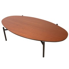 Surfboard coffee table by Donald R. Knorr for Vista