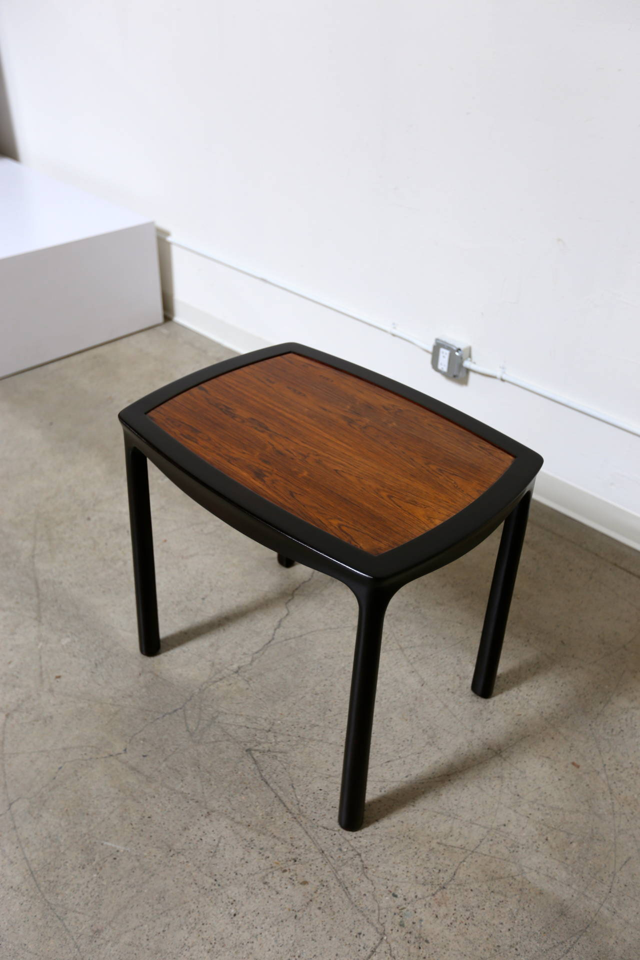 Rosewood Side Table by Edward Wormley for Dunbar.