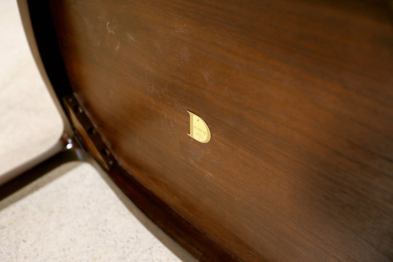 Mid-Century Modern Rosewood Side Table by Edward Wormley for Dunbar For Sale