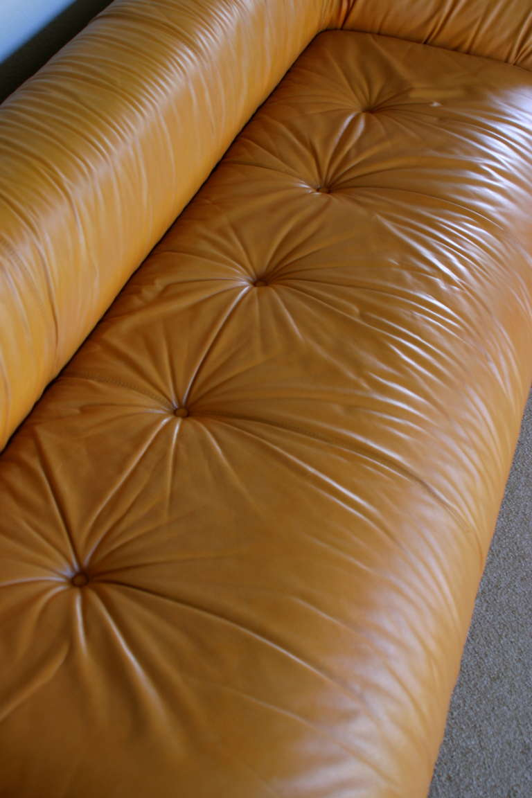 Anfibio Leather Sofa Bed By Alessandro Becchi For