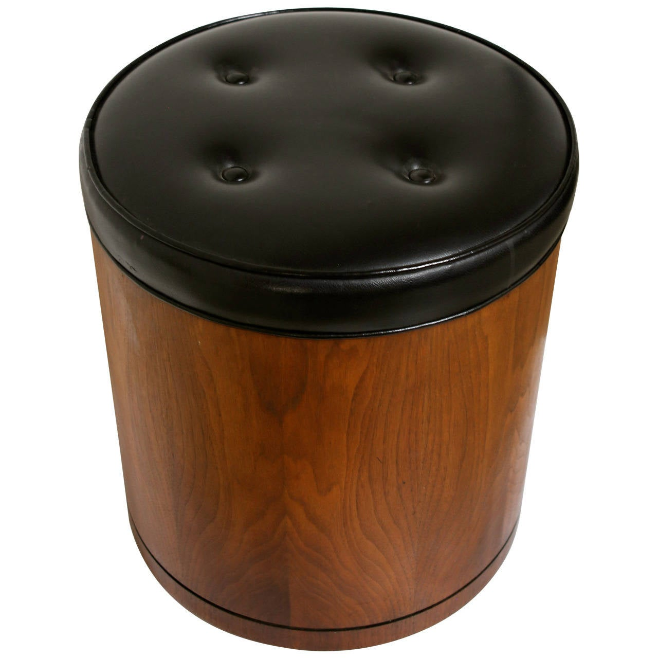 Walnut Stool By Glenn Of California At 1stdibs