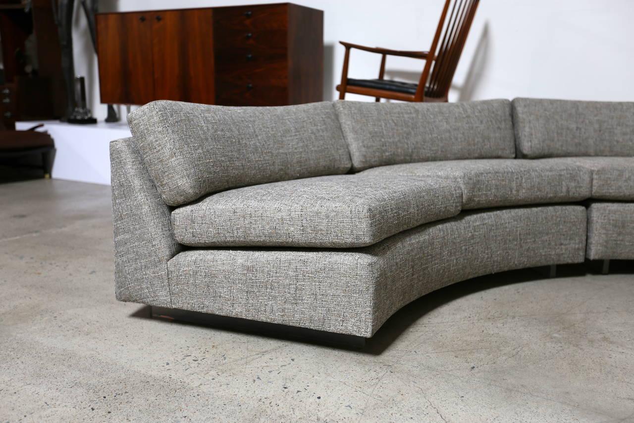 Circular Sectional Sofa Whitecraft By Woodard Saddleback