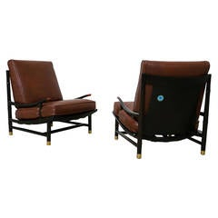 Pair of Lounge Chairs by Pepe Mendoza