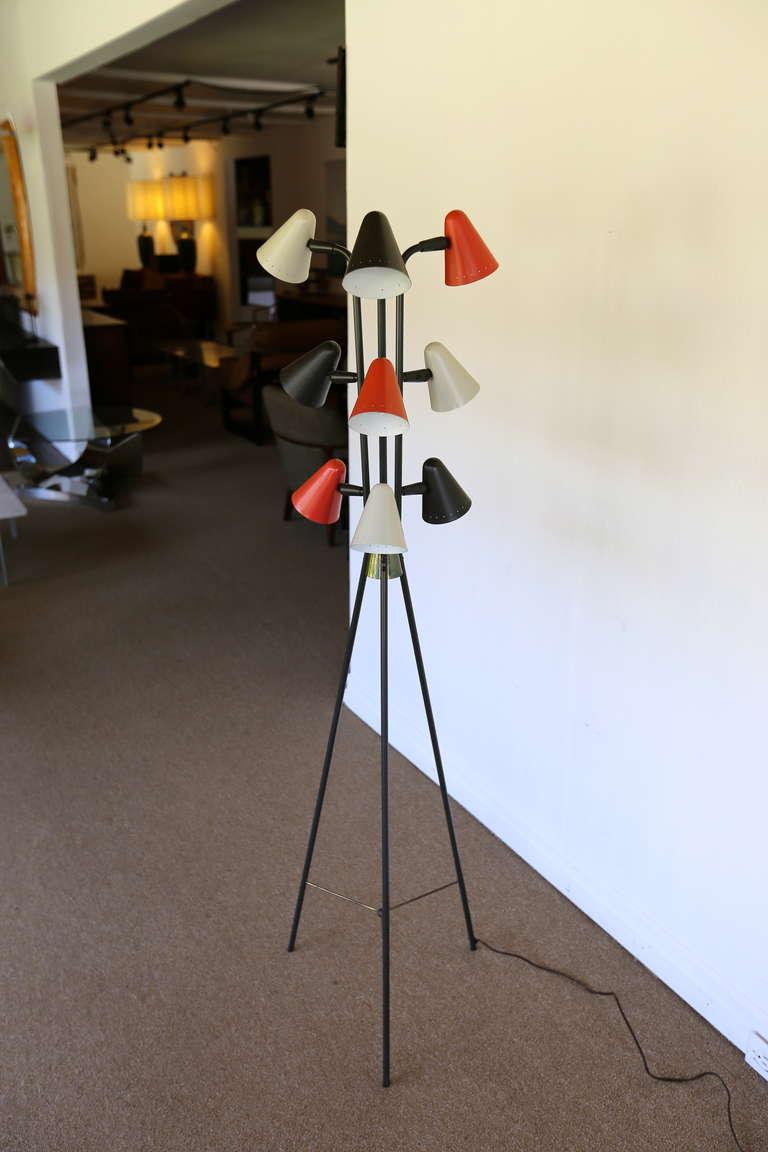 Lightolier Floor Lamp At 1stdibs