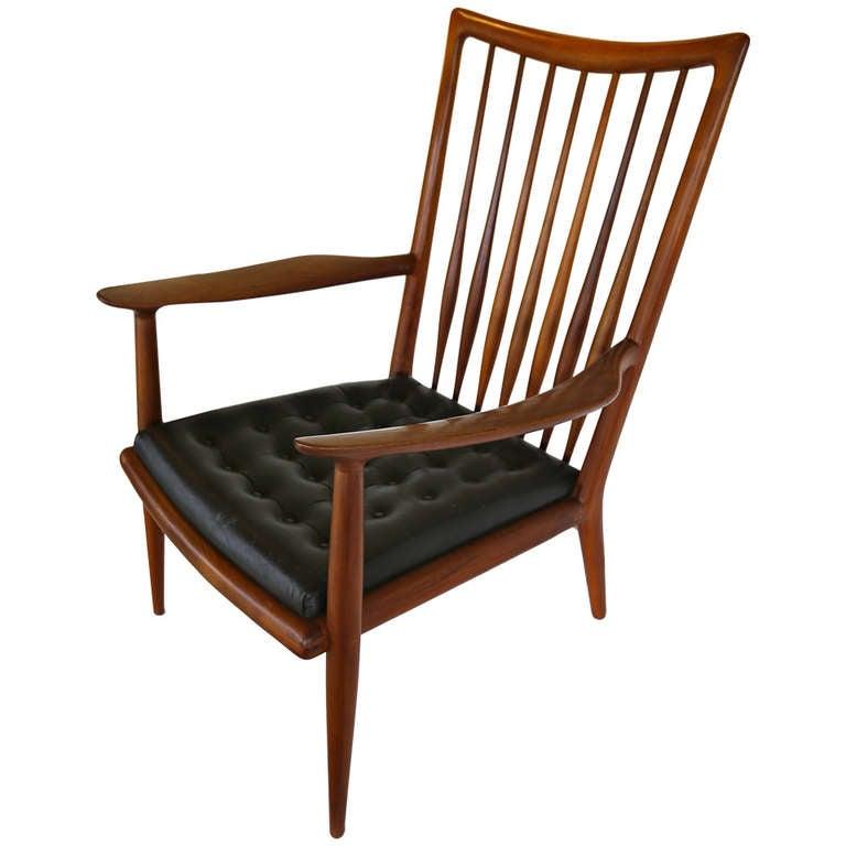 Sam Maloof Studio Crafted Lounge Chair 1