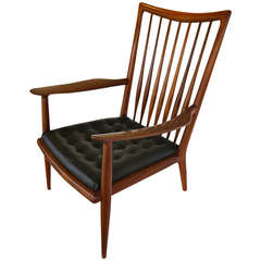 Sam Maloof Studio Crafted Lounge Chair