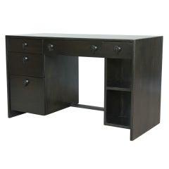 Ebonized Desk By Gilbert Rohde For Herman Miller