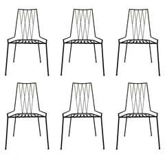 Paul McCobb Set of Six Dining Chairs for Arbuck