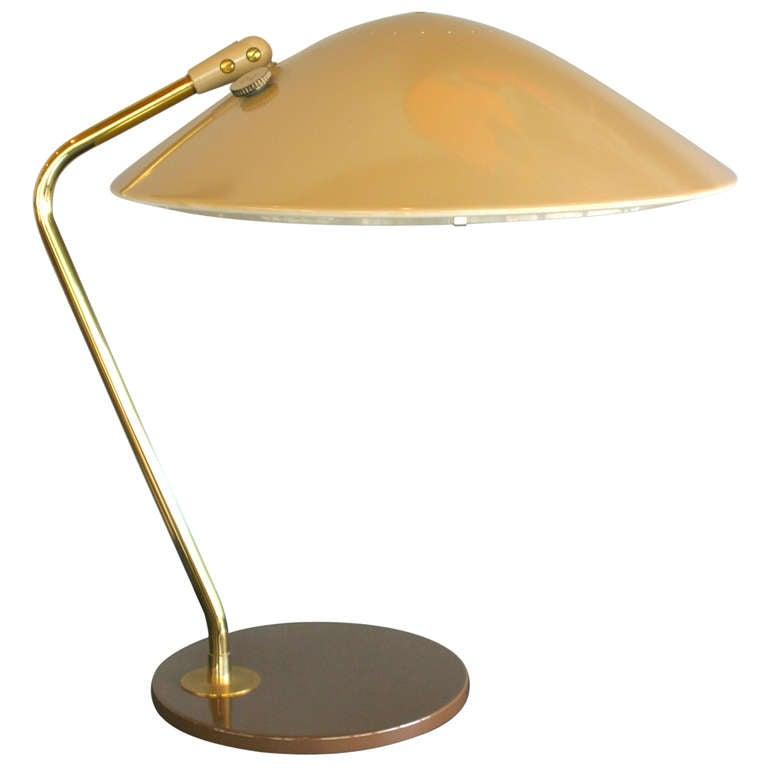 Desk Lamp By Gerald Thurston For Lightolier At 1stdibs