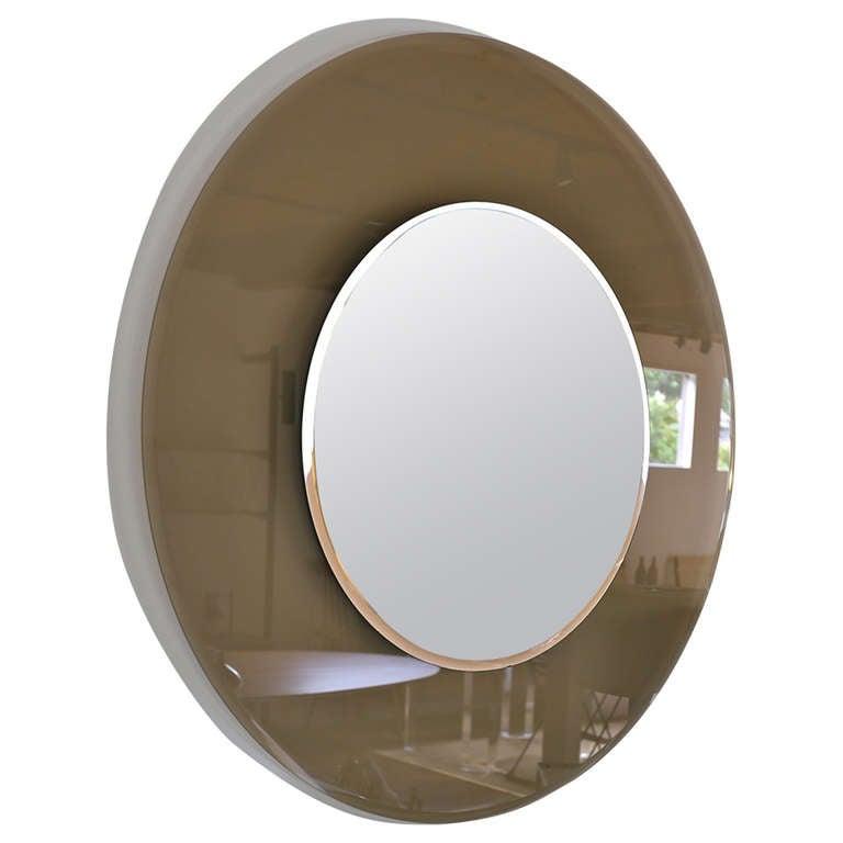 Custom smoked glass mirror at 1stdibs for Custom mirror glass