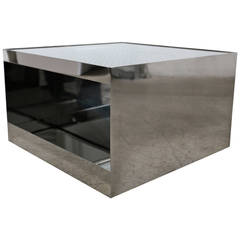 Stainless Steel Table by Joe D'urso for Knoll