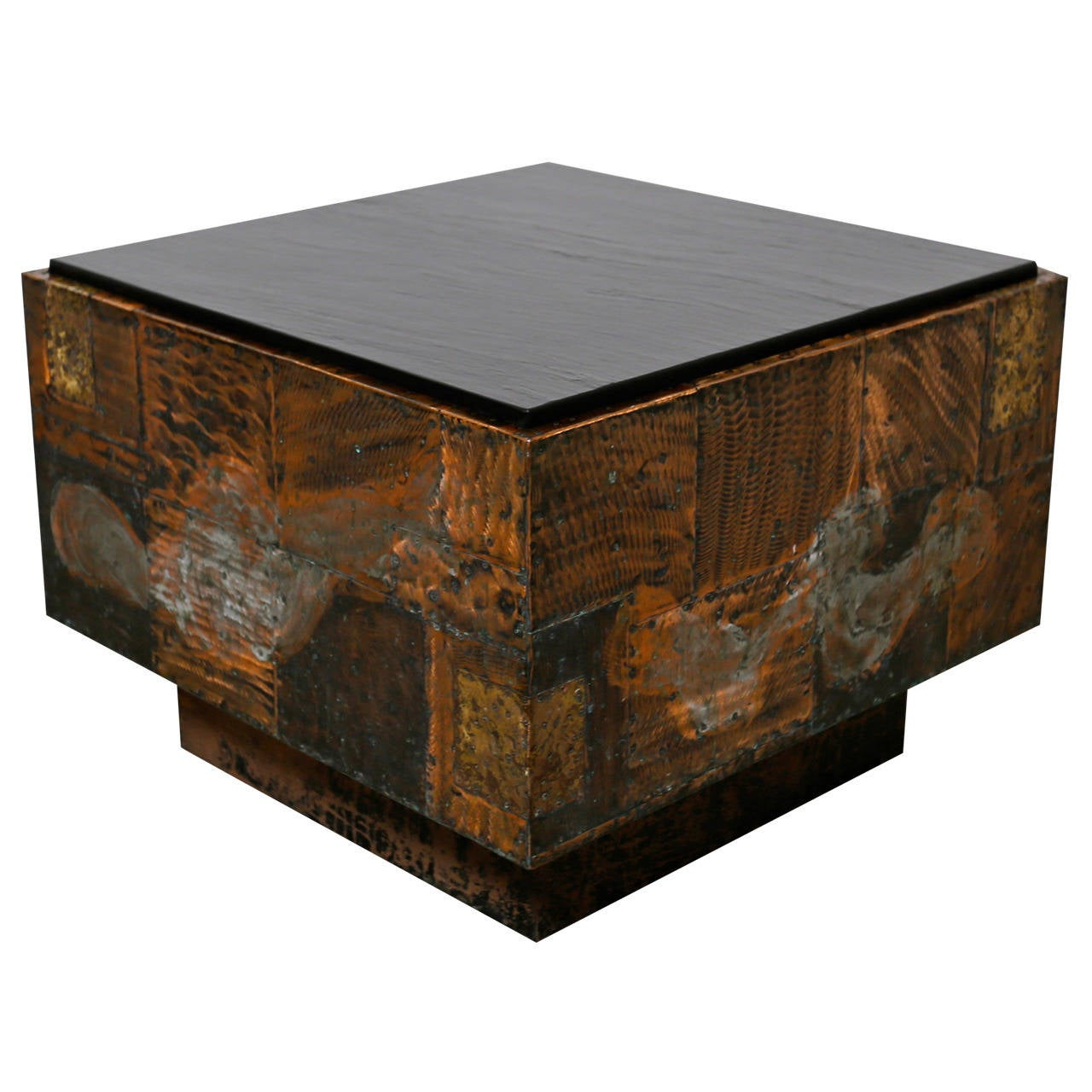 """Paul Evans """"Patchwork"""" Table at 1stdibs"""