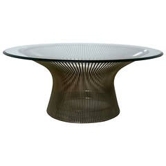 Round Coffee Table by Warren Platner for Knoll