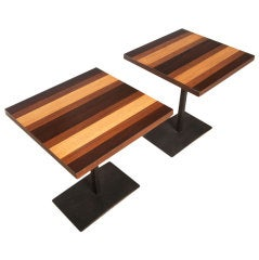 Pair of Side Tables by Milo Baughman for Directional