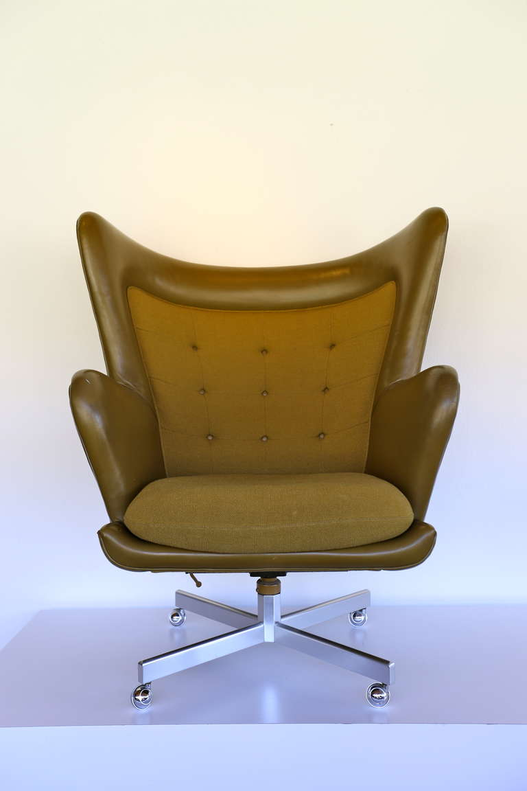 Rare Lounge Chair And Ottoman By George Kasparian From The