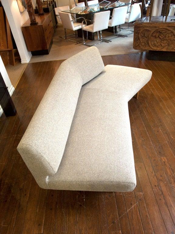 Wing Shaped Sofa By Edward Wormley For Dunbar At 1stdibs