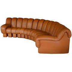 De Sede non-stop leather sofa DS-600