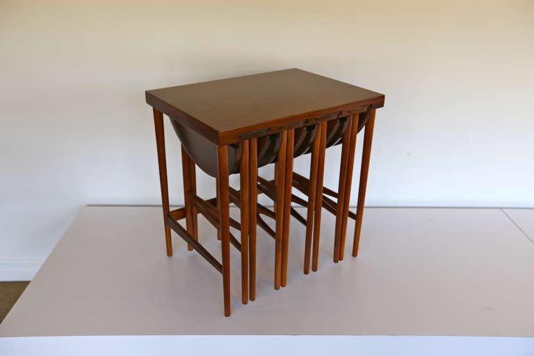 Bertha Schaefer For M Singer And Sons Nesting Tables For