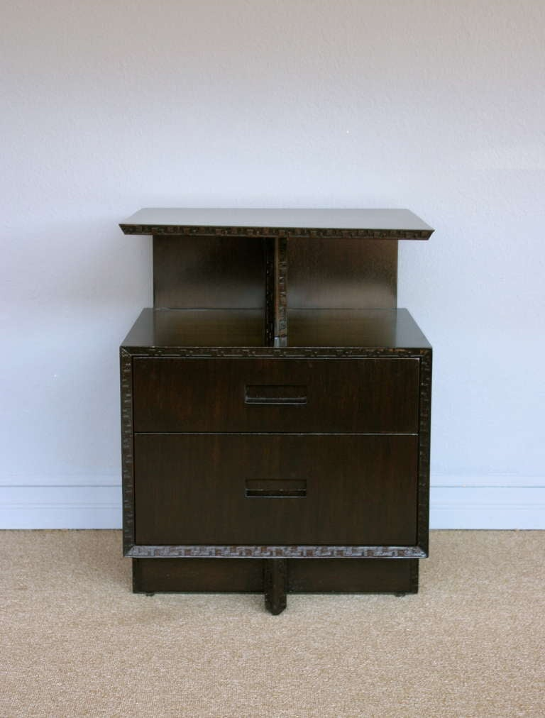 Nightstand By Frank Lloyd Wright For Henredon At 1stdibs