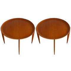 Pair Of Tray Table By Fritz Hansen