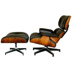 Rosewood Lounge Chair By Charles Eames For Herman Miller
