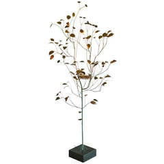 Floor Standing Tree Sculpture By Curtis Jere 1968