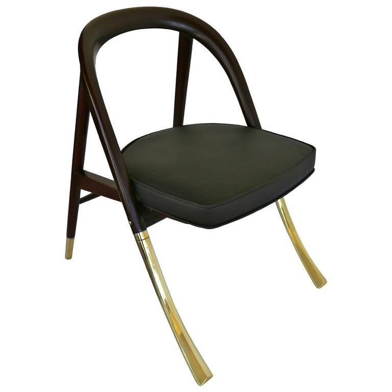 Rare a chair by edward wormley for dunbar at 1stdibs - Edward wormley chairs ...